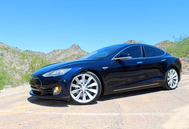 Uber in a Tesla Phoenix & Scottsdale AZ