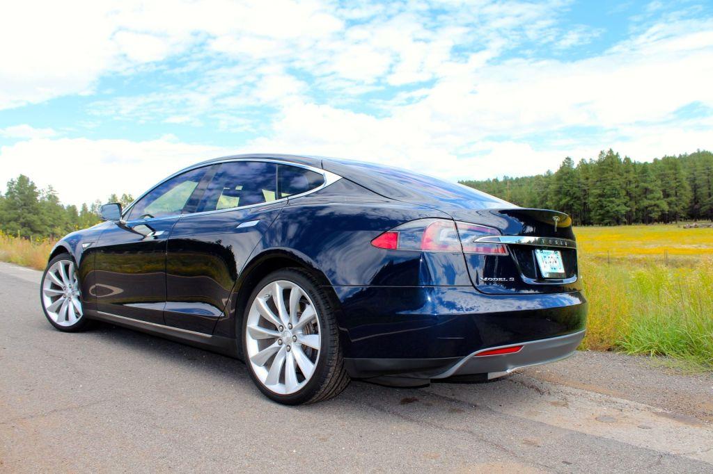 Tesla Model S Limo Service