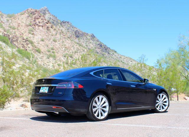 UberBlack Tesla in Phoenix