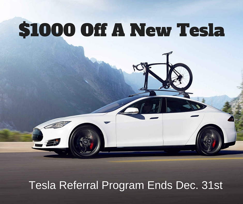 Tesla Referral Discount