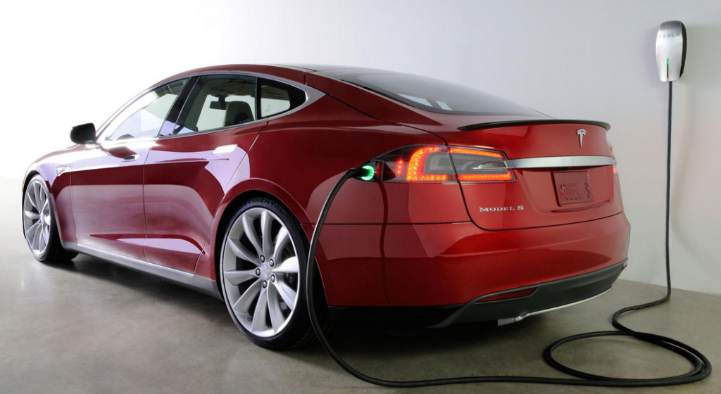 Charging a Tesla in your Garage